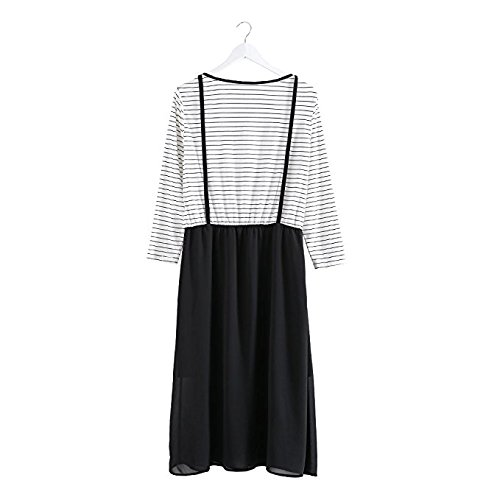 mccmococo - Tailleur-robe - Peplum - Col Rond - Femme
