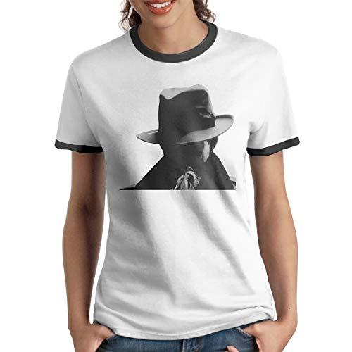 HOUMDP Katie Holmes Fashion Women's Ringer T-Shirt M ()