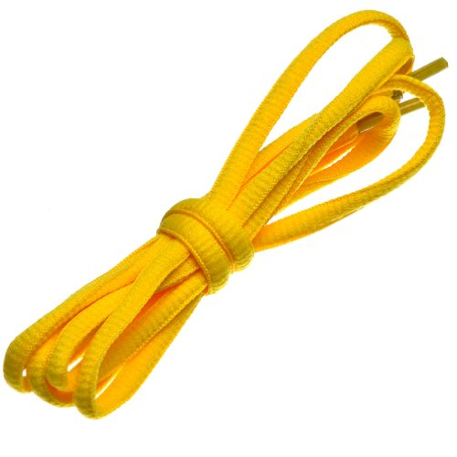 - BIRCH's Oval Shoelaces 27 Colors Half Round 1/4