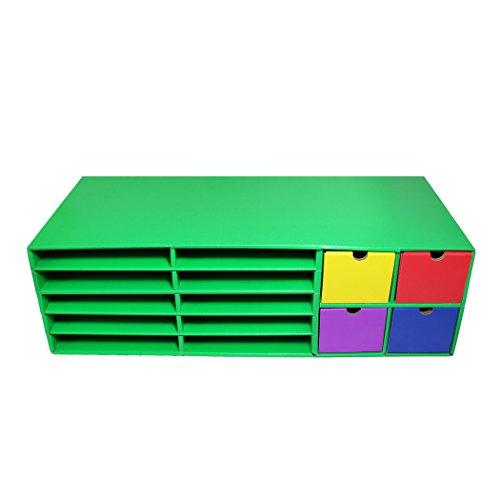 Classroom Keepers Crafts Keeper, Green, 9-3/8