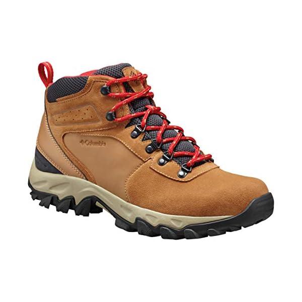 Columbia Men S Newton Ridge Plus Ii Suede Waterproof Hiking Shoe Dk Outfitters