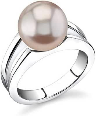 10mm Pink Freshwater Cultured Pearl Kasandra Ring