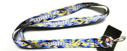 (San Diego Chargers Camouflage Lanyard in Team Colors)