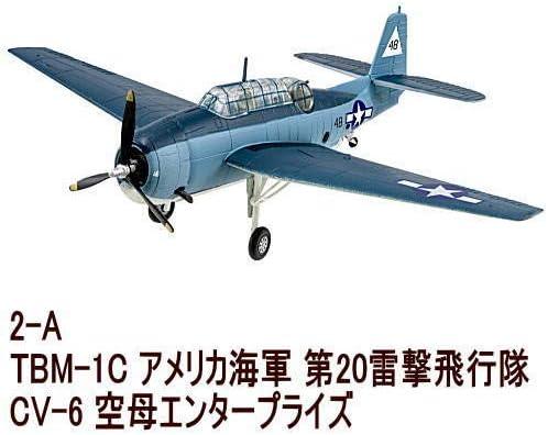 1/144スケール ウイングキットコレクション VS10 [2-A.TBM-1C アベンジャー アメリカ海軍 第20雷撃飛行隊