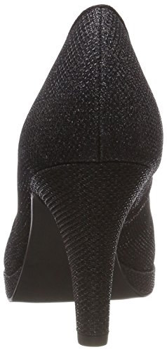 Metallic Femme 2 033 22450 033 Marco Noir Escarpins black 2 Tozzi 31 v06FqF5