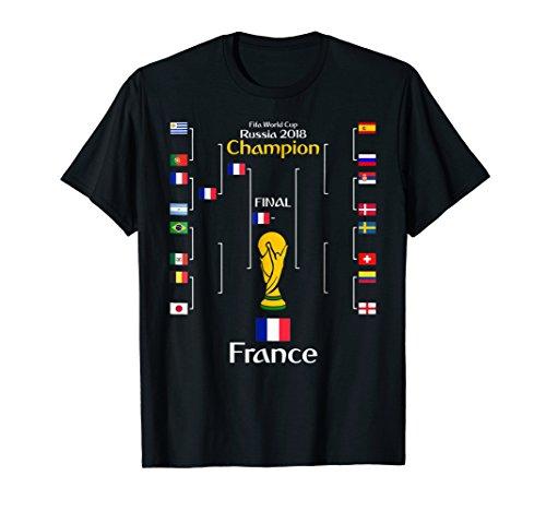 Cup World Winners (France World Soccer Football Winner french Jersey T-Shirt)