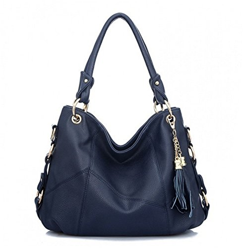 BagVenus Fashion Soft Leather Elegent Shoulder Bag Crossbody Handbag(C2)