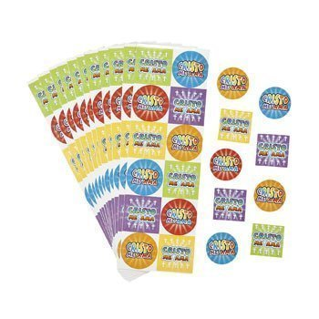 Spanish Jesus Loves Me Stickers - Stationery & Stickers by Oriental Trading Company
