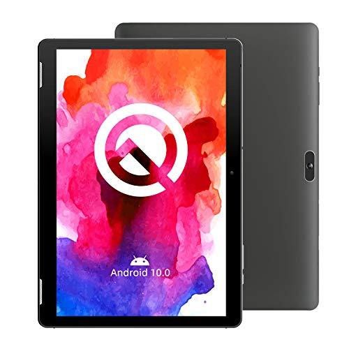 【最新Android 10.0モデル】WINNOVO タブレット10インチ - RAM 2GB/ROM 32GB 1280×800 HD IPS ディスプレ 8MPリアカメラ Wi-Fi GPS Bluetooth FM機能搭載 日本語説明書/TS10(黒)