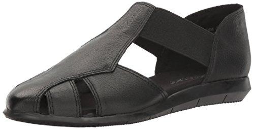 Aerosoles Ladies Shoes (Aerosoles Women's Believe Flat, Black Leather, 9.5 M US)