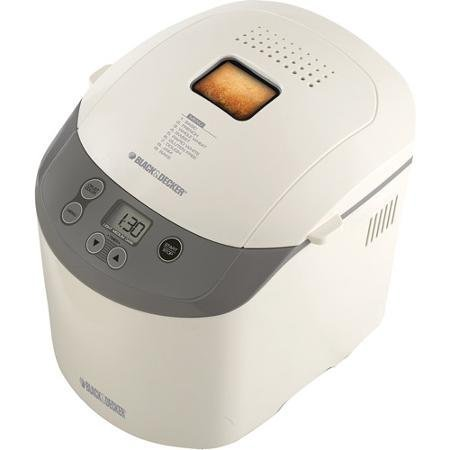 White Bread Maker, Removable Kneading Paddles