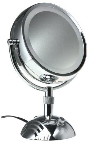 lighted makeup mirrors wall mounted mirror sears canada classic collection double sided reviews australia