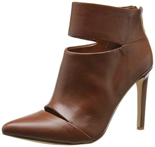 Brown Patent Leather Boots - 3