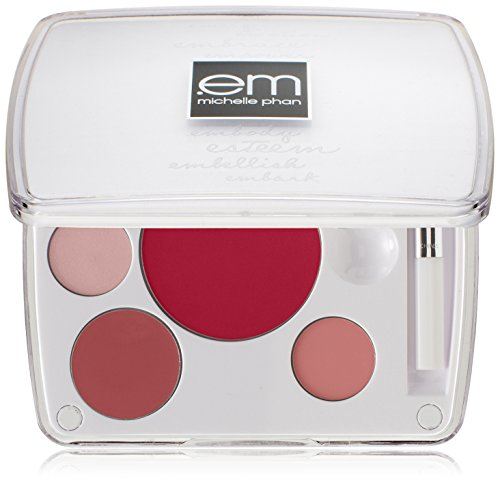 em michelle phan Shade Play Lip Color Mixing Palette, Mix It Up Pinks
