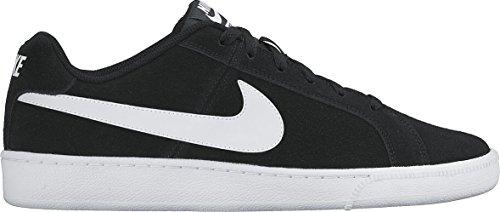De black white 011 Royale Negro Tenis Nike Court Hombre Suede Zapatillas qOfxwyTSI4