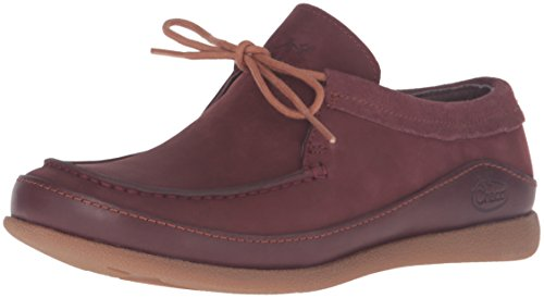 Chaco Women's Pineland Moc-W Hiking Shoe, Baker Chocolate, 9 M US