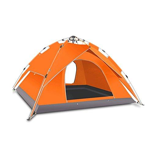 五ペダルキリンTLMY エクスプローラーオートテント屋外キャンプキャンプ テント (色 : Orange)