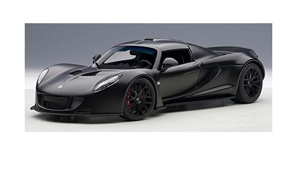 Hennessey Venom GT Spyder Matt Carbon Black AUTOart 75401 1//18 Signature