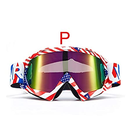 Amazon.com: ForShop Motorcycle Accessories Snowboard Ski Men Outdoor Gafas Casco Moto Motocross Glasses Windproof Color Goggle: Kitchen & Dining