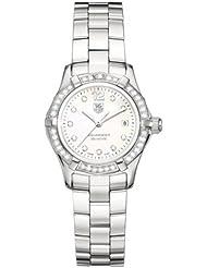 TAG Heuer Womens WAF1416.BA0813 Aquaracer Diamond Accented Quartz Watch