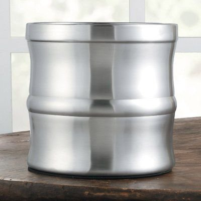 CHEFS Satin Finish Stainless Steel Kitchen Tool Crock