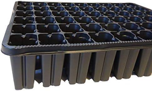 Fuchs seit 1895 3er Set Anzuchtplatte Hoch 3040/54H Pikierplatte Multitopfplatte Topfpalette Kunststoff