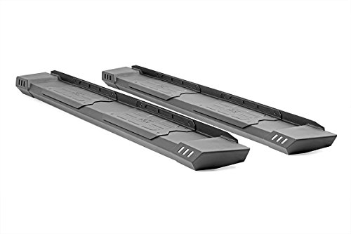 Rough Country SRB091777 HD2 Running Boards for 09-18 RAM 1500 Quad Cab