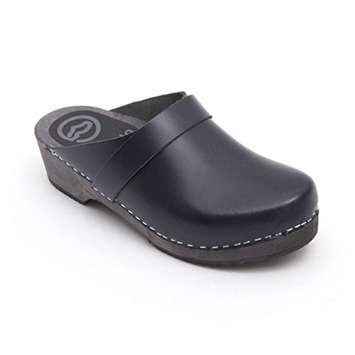 Clogs of Toffeln Navy klog Classic Classic Navy 310 com World Clogs Traditional Wooden vtdOq7wSS