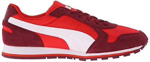 Sneaker Puma Mens St Runner Nl Ad Alto Rischio Rosso / Zinfandel / Bianco