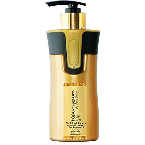 brazilian smoothing hair treatment gold