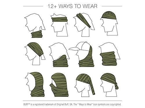 BUFF Unisex UV Multifunctional Headwear, Black, OSFM by Buff (Image #2)