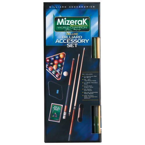 Image of Billiards & Pool Mizerak P0607 Deluxe Billiard Accessory Kit