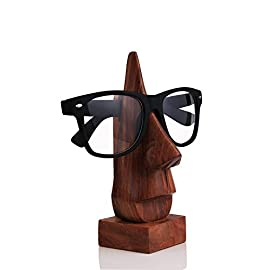 Geschnitzte Nase – Brillengestell