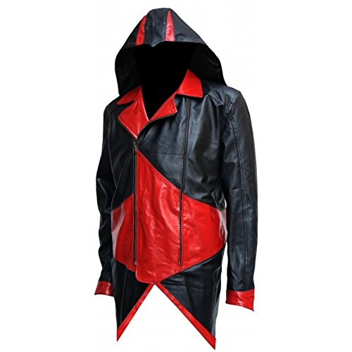 Celebrity Fashion Design Cosplay Assassin's Creed Leather Jacket – Kenway CFD2000347
