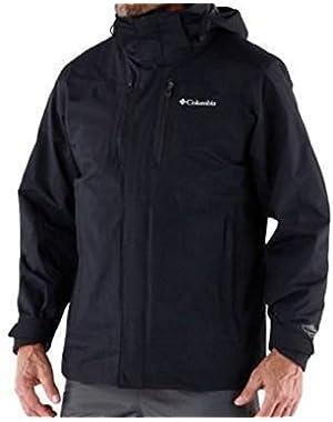 Men's Snow Runner II 3 in 1 Interchange Hooded Winter Jacket Small Black