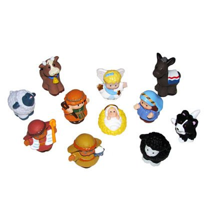 Little People Fisher Price Nativity Manger - Replacement Figure Set