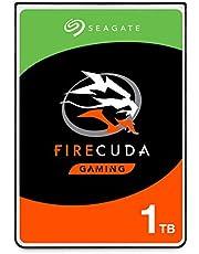 Seagate ST1000LXZ15/LX015 FireCuda Gaming SATA 6Gb/s Flash Accelerated (8GB) Performance Hard Drive, 1TB