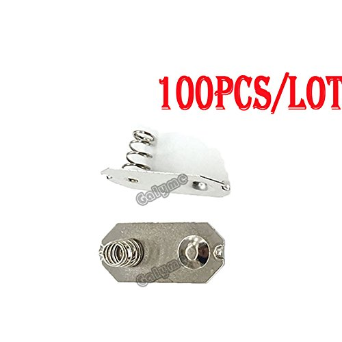 100 pcs/lot Hot For Gameboy GB Classic GBO Battery Terminals Springs Contacts For DMG GBP Battery Holder