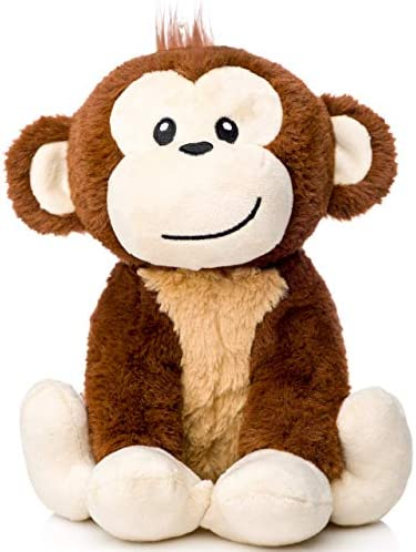 Stuffed Monkey Animal Registry Expecting product image