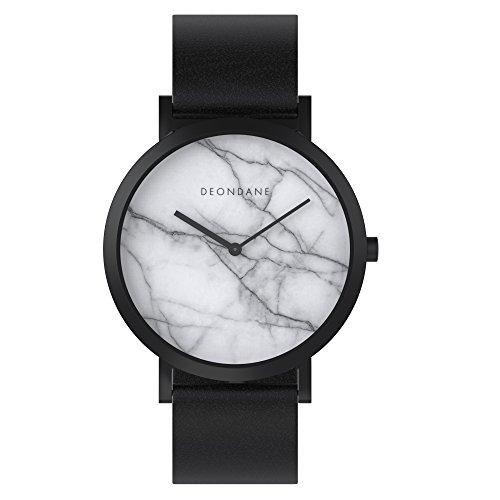 White Marble - Australian kangaroo leather watch