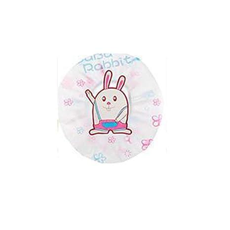 Qianming Paquete de 3 Gorras de Ducha de Dibujos Animados Gorra de salón de baño Impermeable