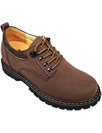 TOTO F6720 - 3.2 Inches Elevator Height Increase Bicycle-Toe Slip On Oxfords