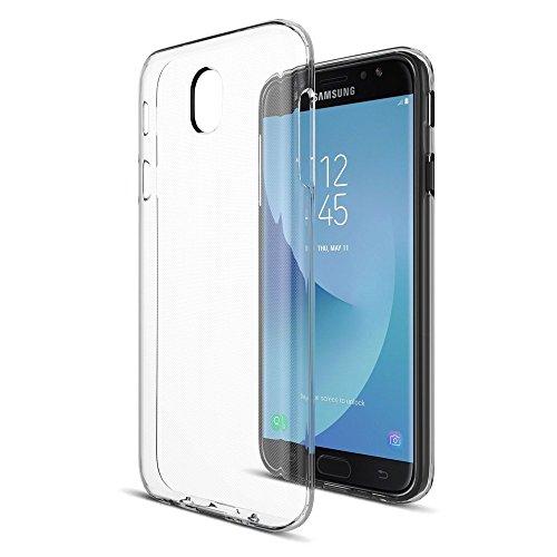 Samsung J7 Pro Transparent Back Cover