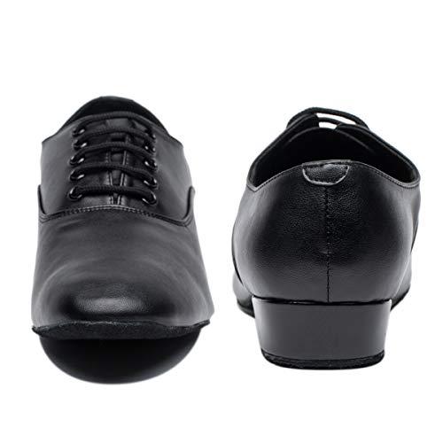 Pictures of Gogodance Men's Boys Professional Lace-up Black 10.5 M US 3