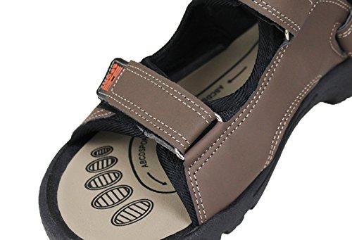 marrone Fiorante linea mare scarpe shoes man's Sandali ciabatte uomo infradito casual qX5HxAXF