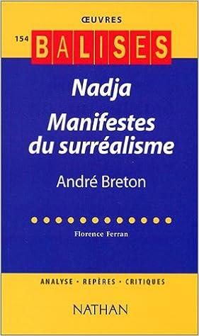 Livres gratuits Nadja : Manifestes du surréalisme pdf, epub