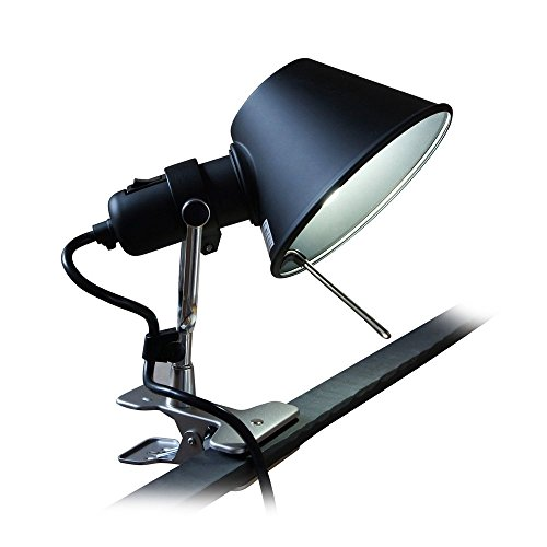 Tolomeo Mini Wall (MODO CL-01 Black Color Clip On Task Aluminum Light)