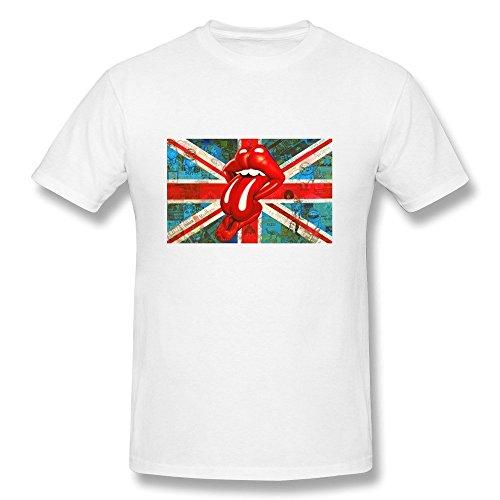 Price comparison product image Rolling Stones Mens Vintage - T-shirts,  White