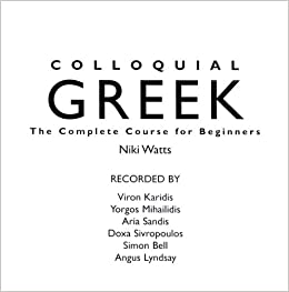 Colloquial Greek Audio CD: The Complete Course for Beginners (Colloquial)