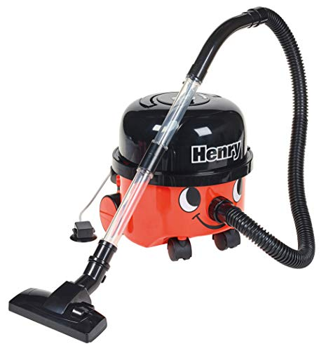 Casdon Henry Toy Vacuum Cleaner, Red (728)